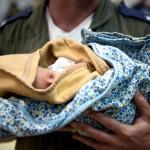 Newborn in Nepal-IDF
