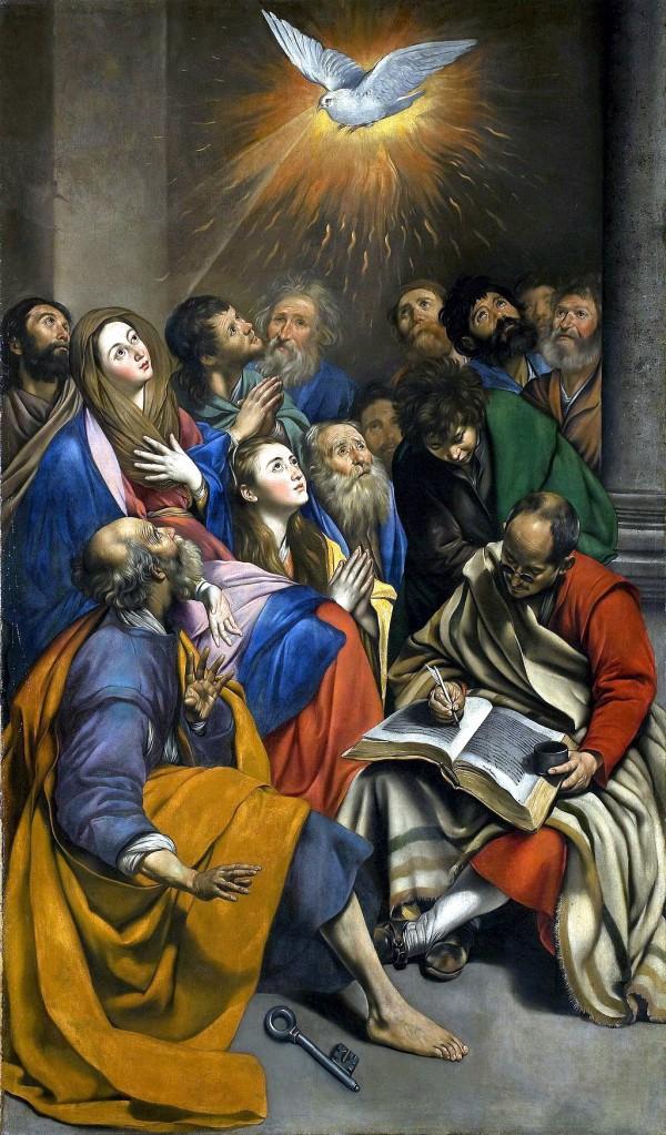 Pentecost, by Juan Bautista Maino (Museo del Prado)
