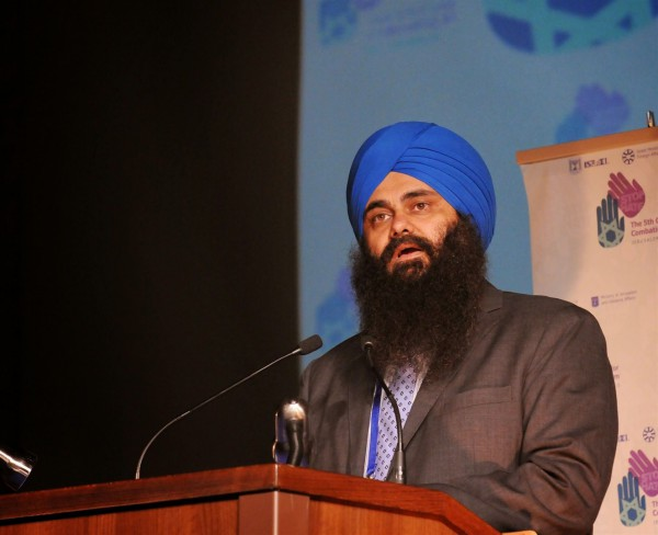 Canada's Minister of State for Multiculturalism Tim Uppal-Fifth Global Conference on Combating Anti-Semitism