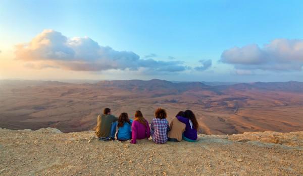 negev-Ramon-tourists-Christians