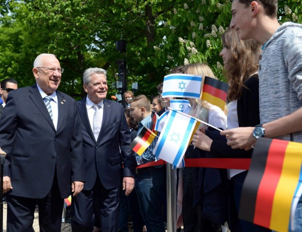 Rivlin-Gauck-Berlin-Germany-Israel