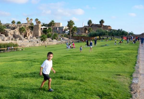 Caesarea Park in Israel