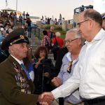 Moshe Ya'alon-Red Army veteran Efraim-Fiodor Papernyi