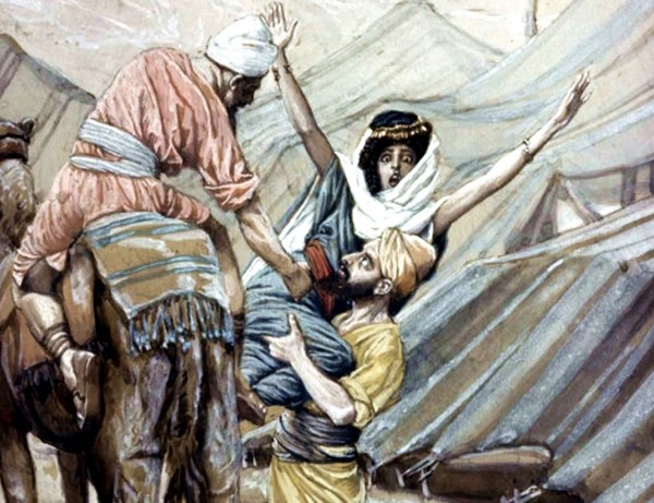 The Abduction of Dinah, by James Tissot