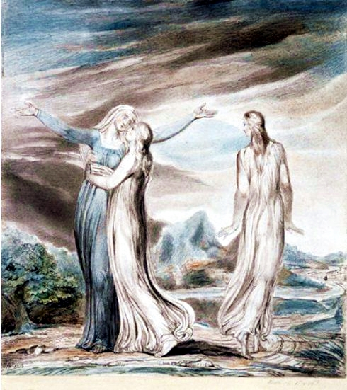 Ruth, the Dutiful Daughter-in-Law, by William Blake