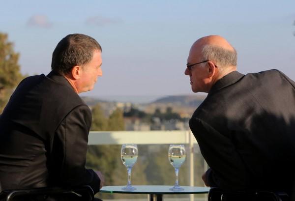 President of the German Bundestag, Prof. Dr. Norbert Lammert meeting with Mr. Yuli-Yoel Edelstein
