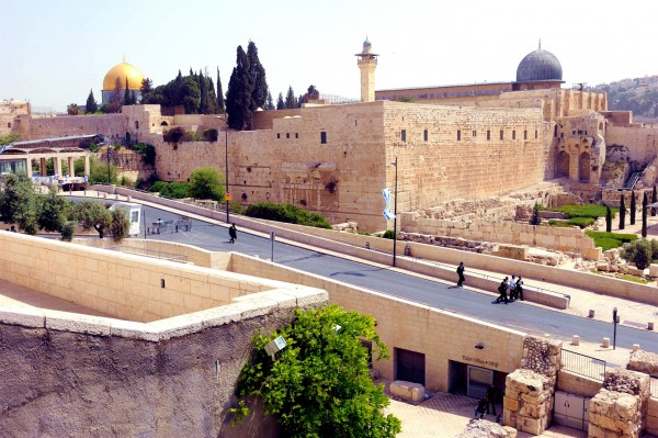 Temple Mount-Dome of the Rock-Al Aqsa Mosque