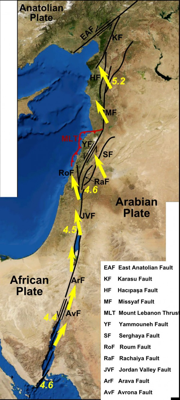 Dead Sea Rift-earthquake