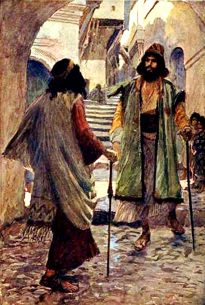 Saul Meets Samuel, by James Tissot