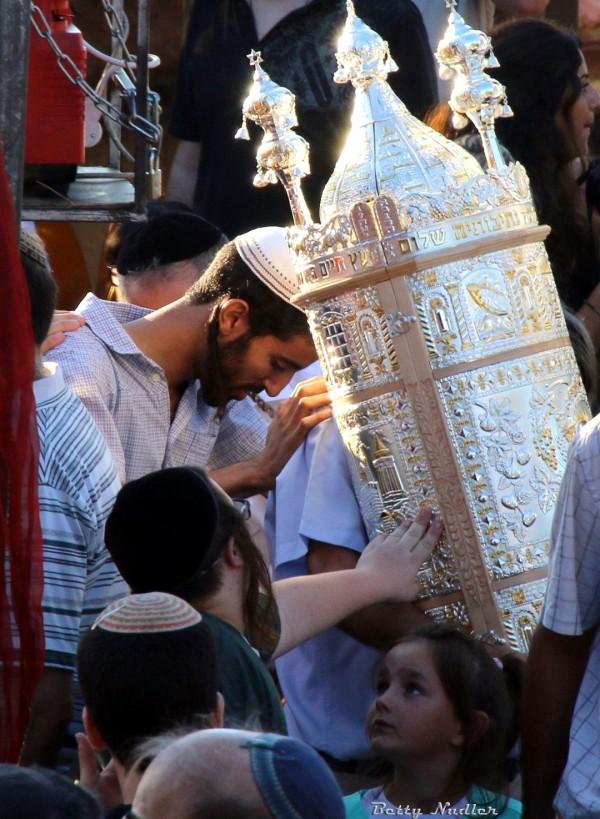 silver Torah tik-Sefer Torah