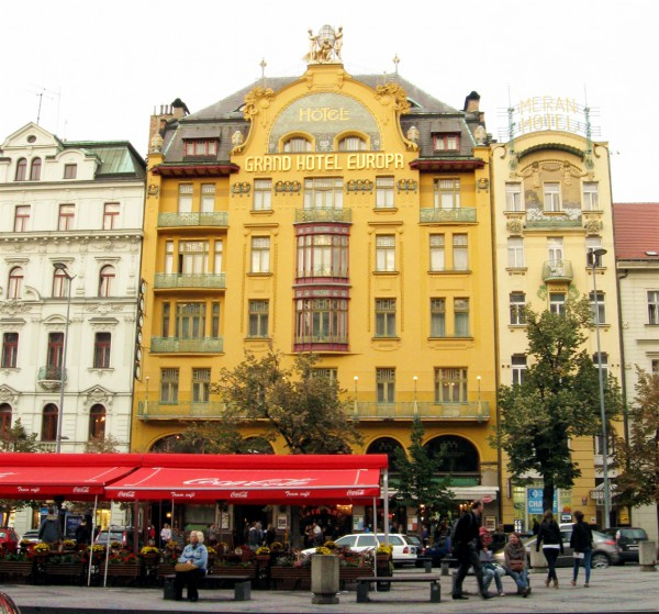 Grand Hotel Europa (Sroubek Hotel) in Prague where Nicholas Winton began making arrangements to bring children out of Czechoslovakia into Britain.