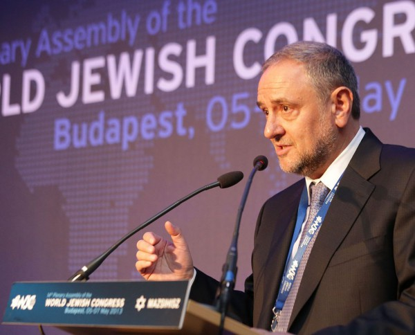 Robert Singer, World Jewish Congress CEO