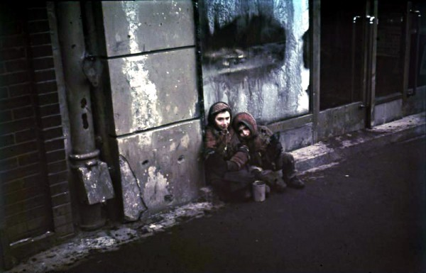 Jewish children-Warsaw Ghetto-Holocaust