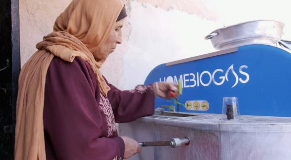 Home Biogas-Israel-Arava