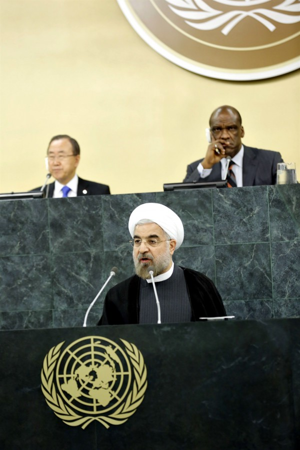 Hassan Rouhani  addresses General Assembly, General Debate