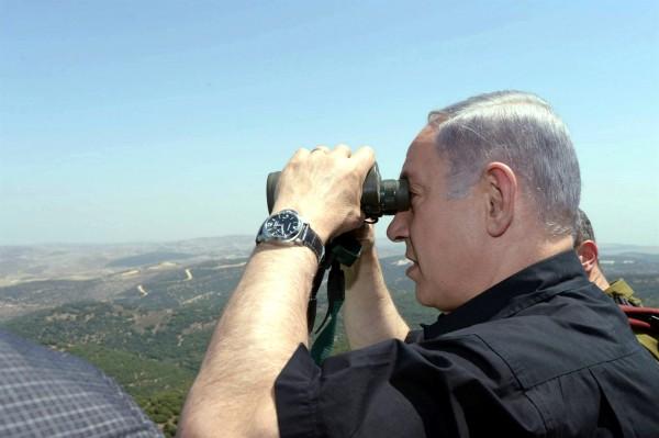 Netanyahu-northern border-Iran proxies