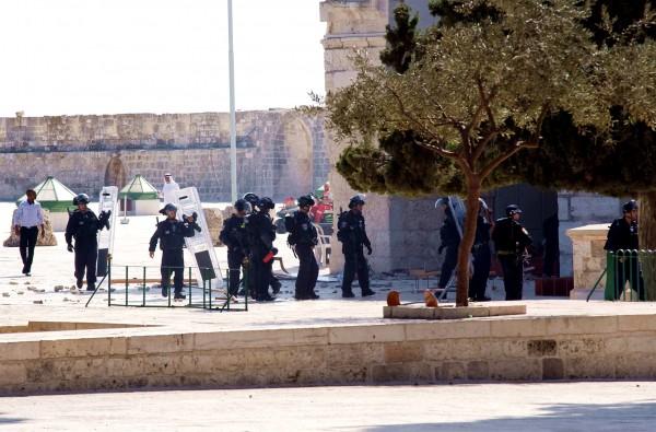 Temple Mount violence