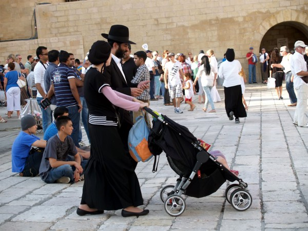 Jewish family-mother-father