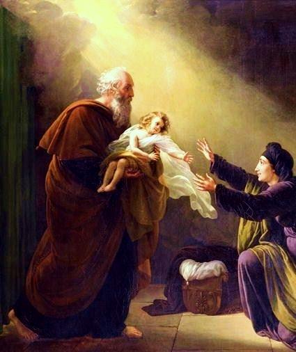 Elijah, by Louis Hersent