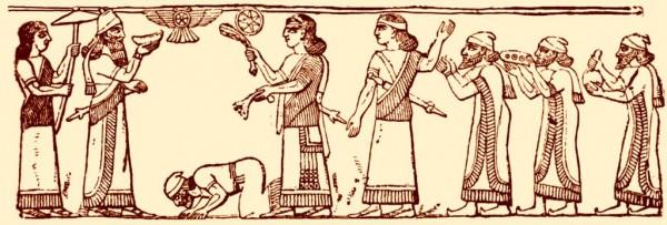 Shalmaneser III-Black Obelisk-Jehu-Omri