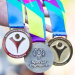 Special Olympic medals