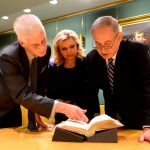London library-Netanyahu