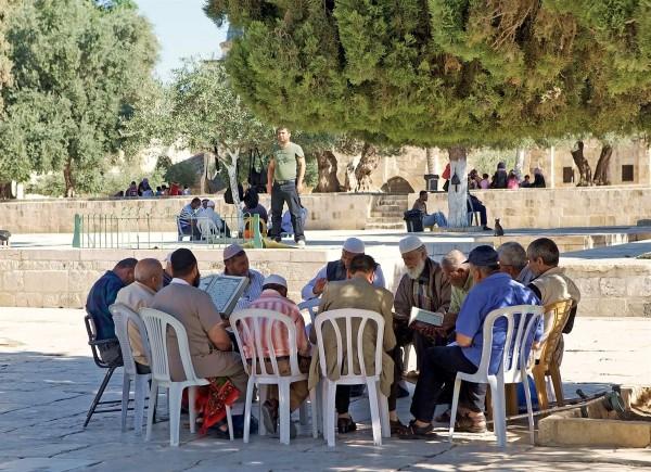 Temple Mount tension-Muslim-Jewish