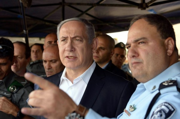 Levlovich-Netanyahu-Jerusalem-Muslim violence-stone throwing
