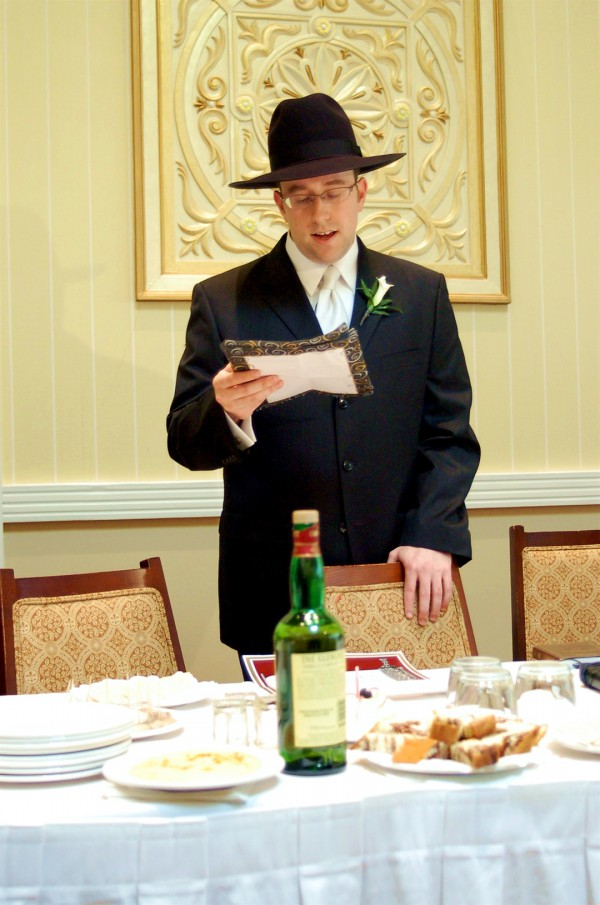 The d'var Torah is provided in a variety of venues. (Avi Flamholz)