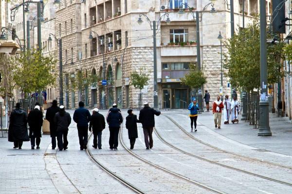 Shabbat stroll in Jerusalem