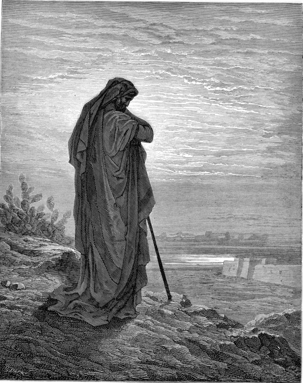 The Prophet Amos, by Gustave Dore