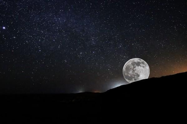 moon-Israel-night sky-stars