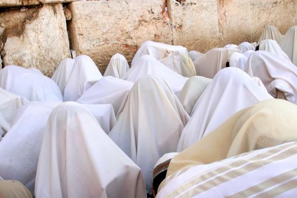Kotel-Jewish Holy Days-Priestly Blessing-Kohanim