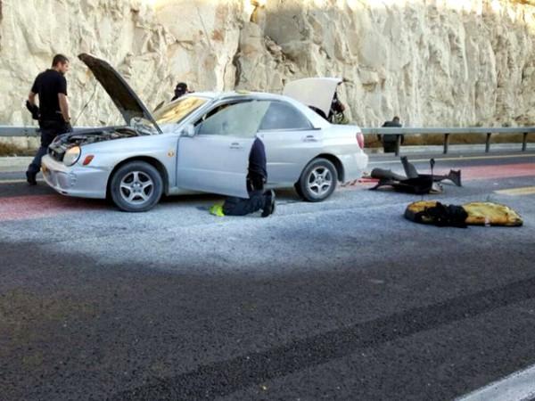 wave of terror-Jerusalem-car attack
