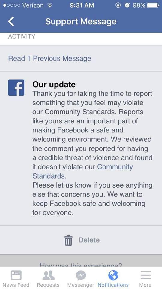 Facebook-Palestinian incitement