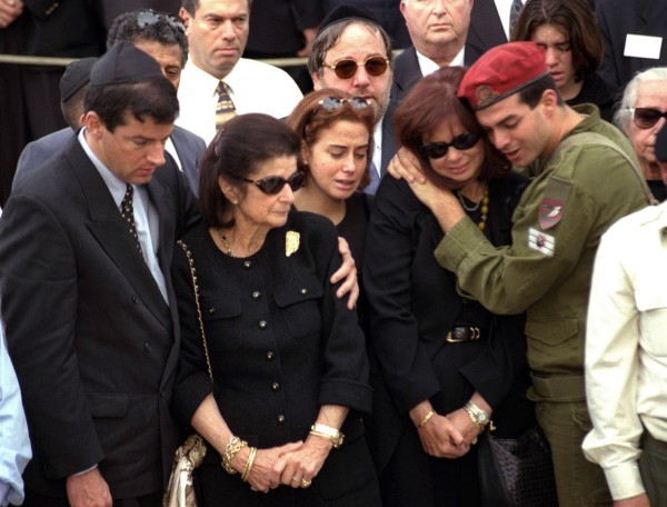 Yitzhak Rabin-funeral