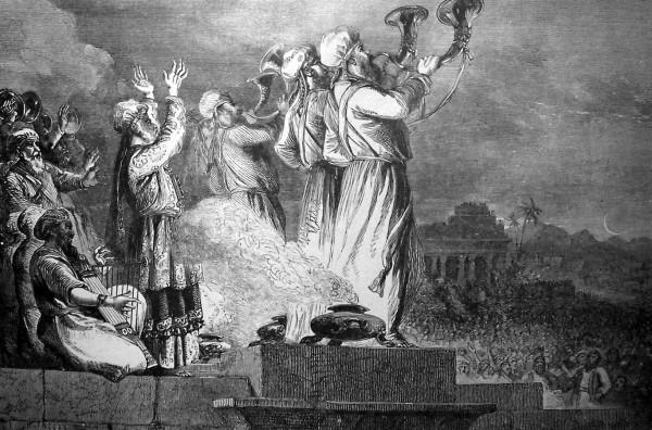 Rosh Chodesh-worship-priests-Jewish