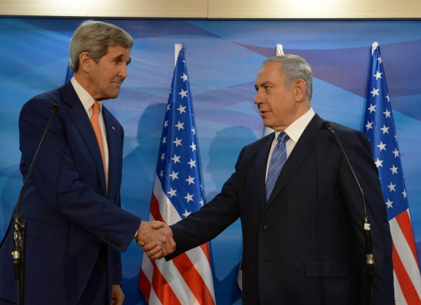 Kerry-Netanyahu-wave of terror-two-state-solution