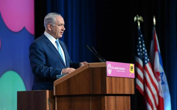 Jewish Federation-GA-Netanyahu