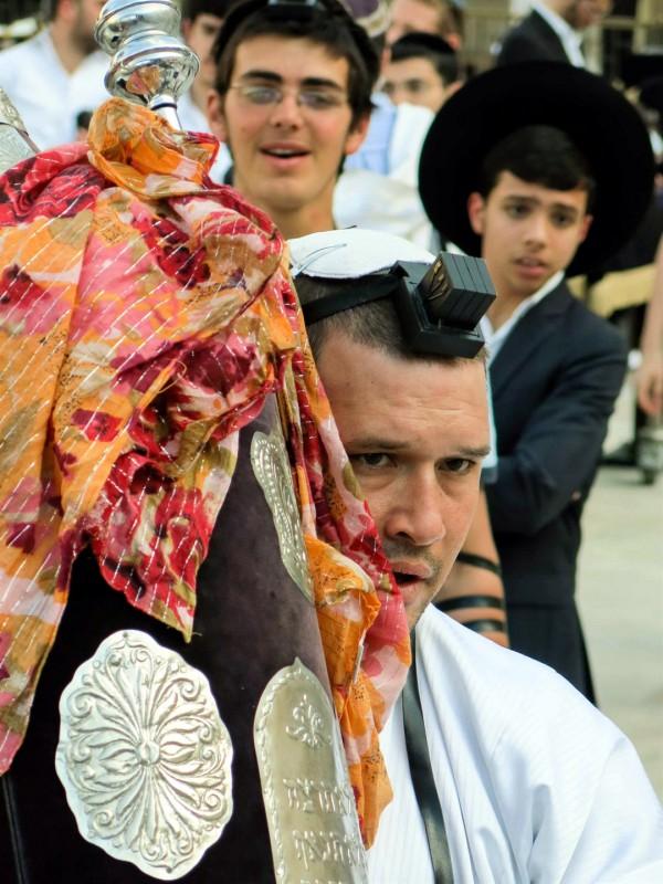 Rosh Chodesh-new moon-Torah scroll