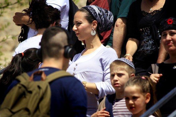 Women and children in Jerusalem