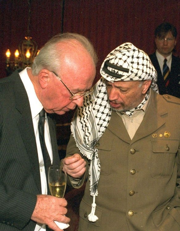 Although Arafat seemed to be a willing peace partner, he repeatedly told Muslim audiences that the peace process was a fraud intended to weaken Israel.