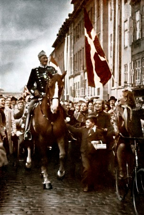 King Christian X, birthday, Holocaust