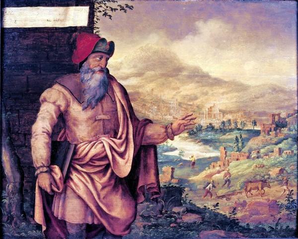 The Prophet Isaiah Predicts the Return of the Jews from Exile, by Maarten van Heemskerck