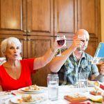 Passover seder, wine,