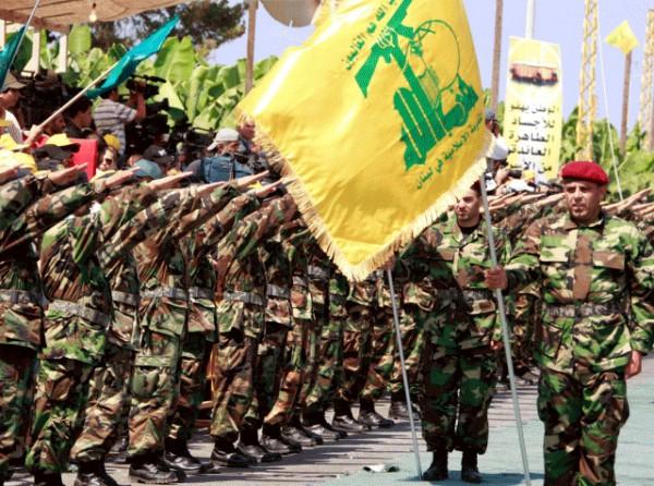 Hezbollah paramilitary wing (IDFblog photo)