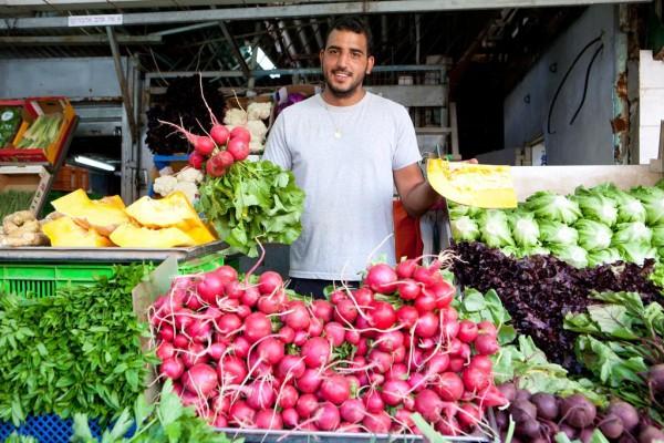 The Carmel Market in Tel Aviv (Israel Tourism photo)