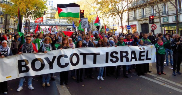 The Boycott Israel movement seeks to financially injure Israel by encouraging a global boycott of Israeli goods made in the disputed territories.