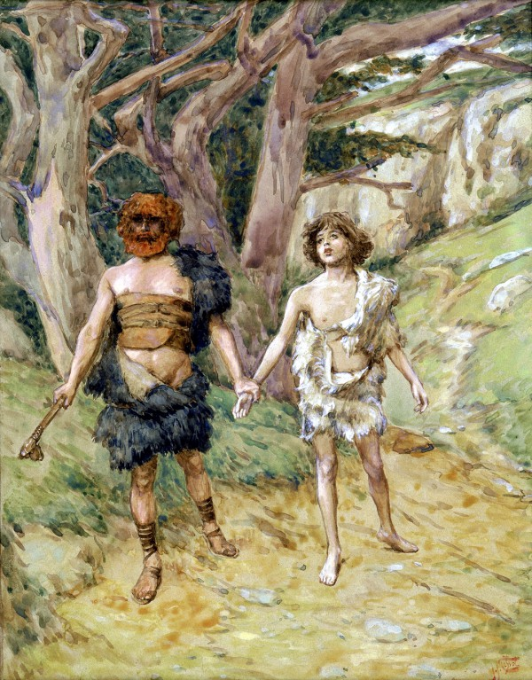 Cain Leads Abel to Death, by James Tissot