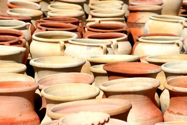 Clay, jars, pots, ceramics, Israel